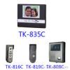 Color video intercom system