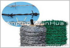 Zinc Covered Barbed Iron Wires