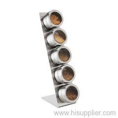 Magnetic Salt and Spice Rack