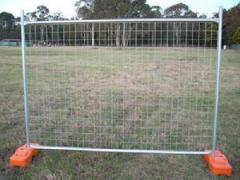 Galvenized Temporary Fences