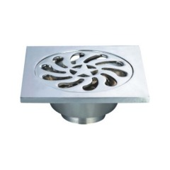 zink alloy floor drains