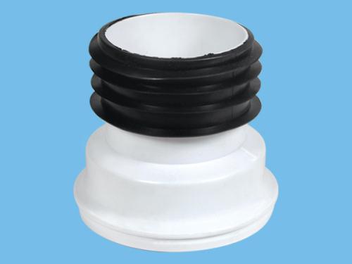 Toilet connecting tube