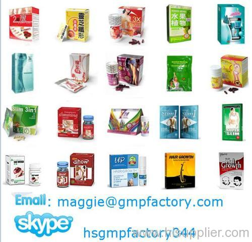 Herbal weight loss products OEm private label