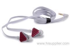 Heartbeats In-ear headphone Rose Red