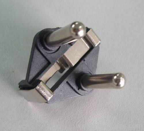 Turkish type 2 pins Plug insert