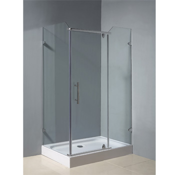 fiberglass shower enclosure