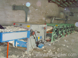 Textile Fabric Waste Recycling Line