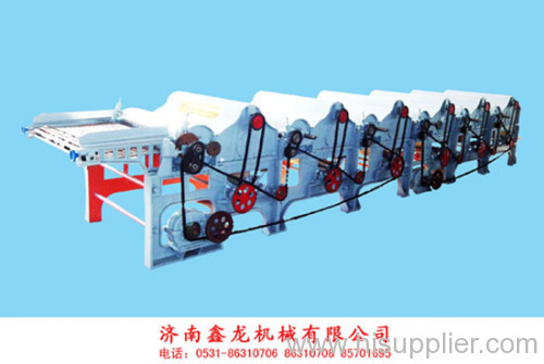 Six-roller Textile yarn Waste Recycling Machine