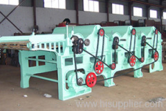 Three-roller Textile Fabric Waste Recycling Machine