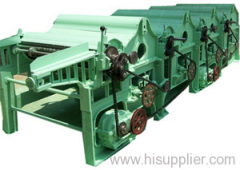 Four-roller Textile Yarn Waste Recycling Machine
