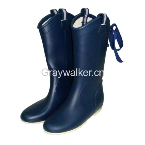 ladies' rubber boots
