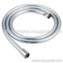 PVC thick silver shower hose
