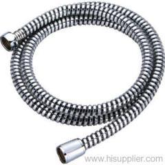 PVC black gold concave and convex shower hose