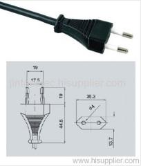 powercord PLUG RUBBER WIRE