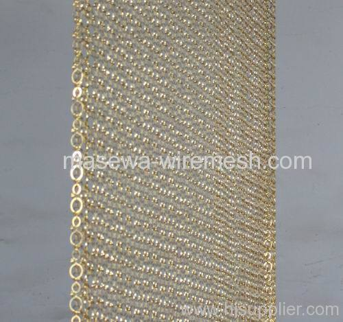 circle mesh decorative mesh brass divider