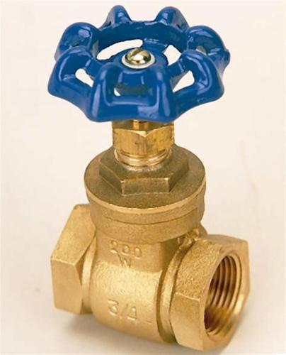 bras gate valves