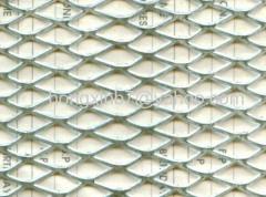 Aluminum plate mesh