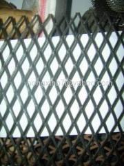Flattened Aluminum Expanded Metal Mesh