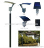 18W Amorphous Flexible Solar LED Garden Lamp