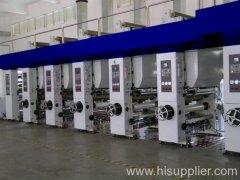 rotogravure press