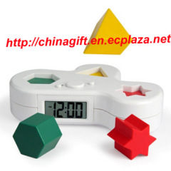 Puzzle alarm clock is not as easy as you think