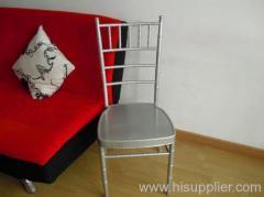 Metal chivari chair