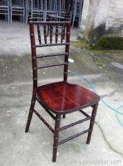 Mahogany Ballroom Chivari chair
