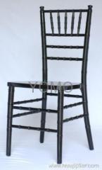 Black Wooden Chivari chair