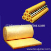 Glass wool insulation pipe and blanket