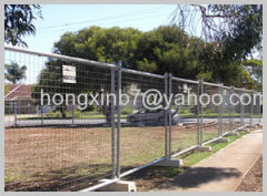 Temporary fence mesh