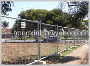 Temporary fence mesh