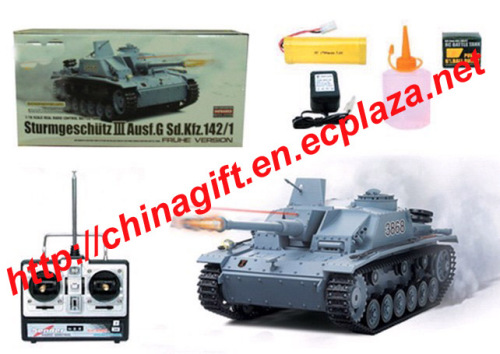 1:16 Rc Tank - Tauch Panzer III-F/8 with Shooting
