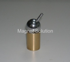 magnetic ball joint assembly