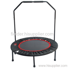 40inch Folding Mini Trampoline with handlebar