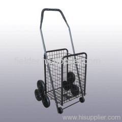 Deluxe 3 Wheels Stair Climber Grocery Shopping Cart