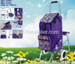 Shopping Trolley with Seat new design