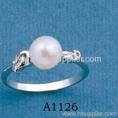 18K Freshwater Pearl Rings A1126 Pearl Farm Direct Marketing