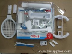 WII 15 in 1 sports kit