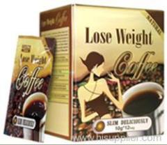 Natural Lose weight coffee, herbal slimming coffee