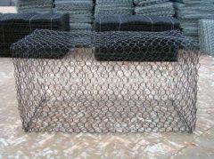 Gabion hexagonal wire meshes