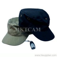 Spy hidden covert cap camera