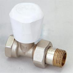 Brass thermostatic radiator valve