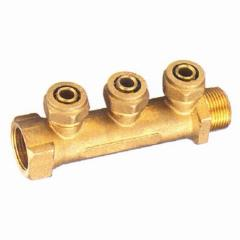 Manifold with nut