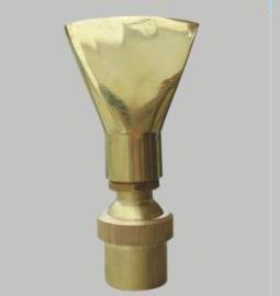 Fan style nozzle