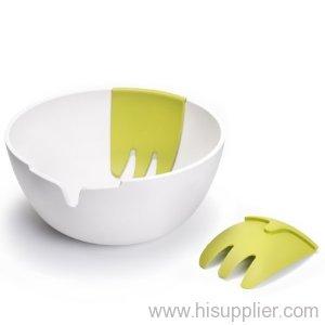 Hand On Salad Bowl