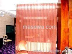 metal drapes