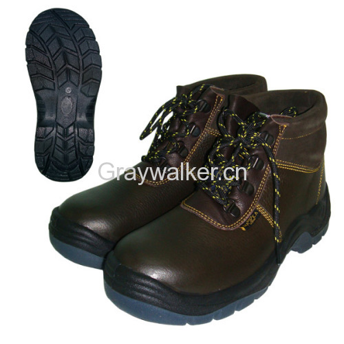steel toe cap work shoe