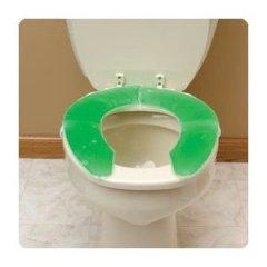 Toilet seat cushion
