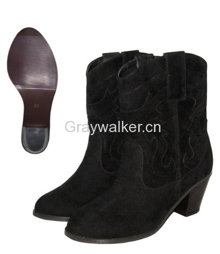 ladies fashion leather boots