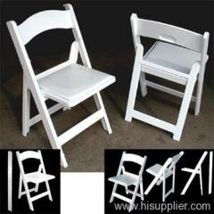 Padded Resin Folding Chairs